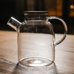 Чайник из огнеупорного стекла Бамбук, 1600 мл
