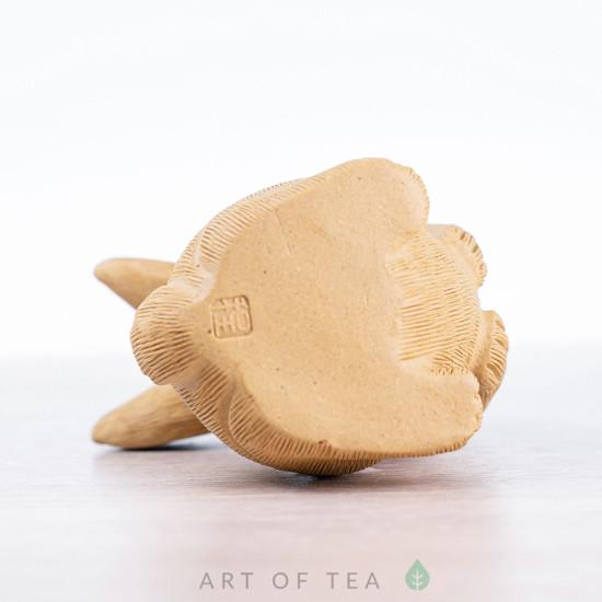 Фигурка Заяц Беляк, исинская глина, 8 см