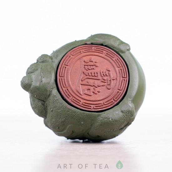 Фигурка Травяная Жаба, исинская глина, 8 см