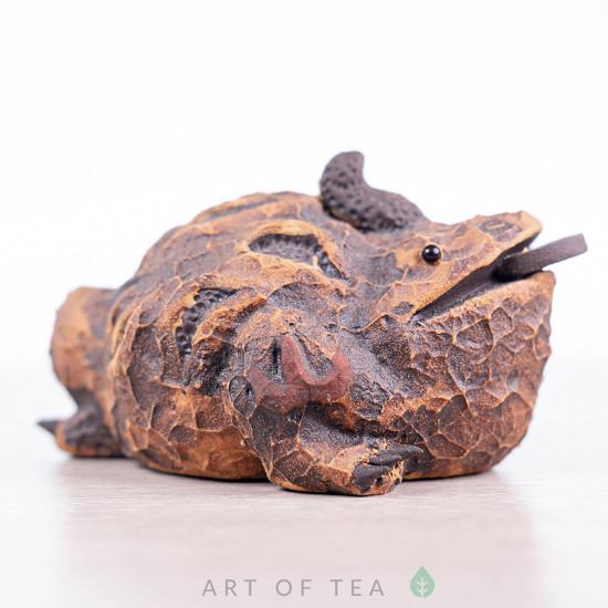 Фигурка Жаба Фараон, исинская глина, 9 см