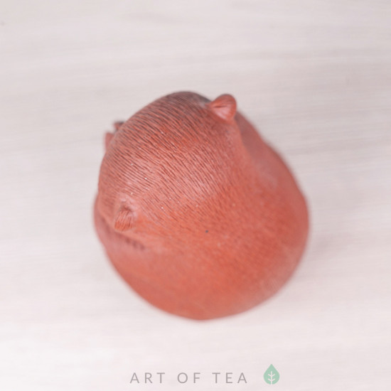 Фигурка Спокойная обезьянка, исинская глина, 8 см