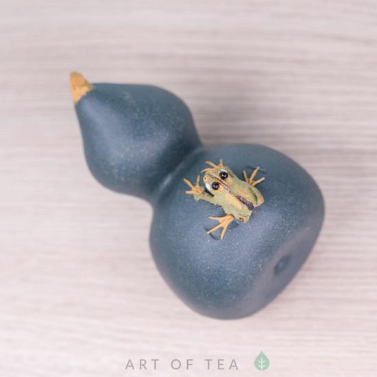 Фигурка Лягушка на тыкве горлянке, 6 см