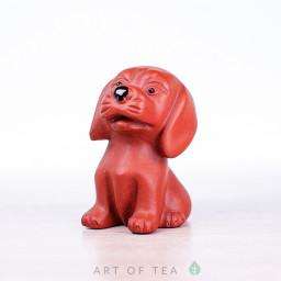 Фигурка Пёс, исинская глина, 7 см