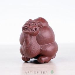 Фигурка Улитка-Дракон, исинская глина, 4 см