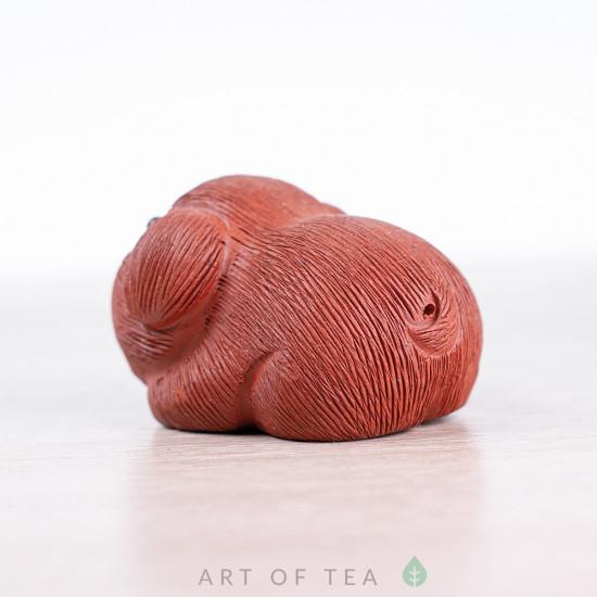 Фигурка Весёлая свинка #2, исинская глина, 5 см
