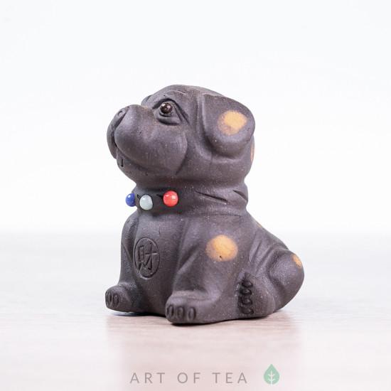 Фигурка Собака в горошек, синяя, 7 см