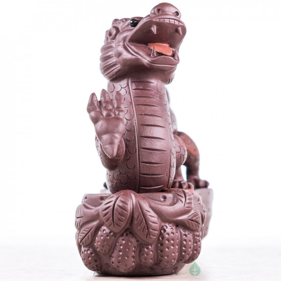 Фигурка Весёлый дракон, исинская глина, 11 см