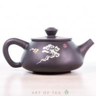 Чайник из цяньшуйской глины м186, 185 мл