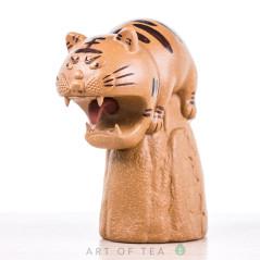 Фигурка Орущий кот, исинская глина, 12 см