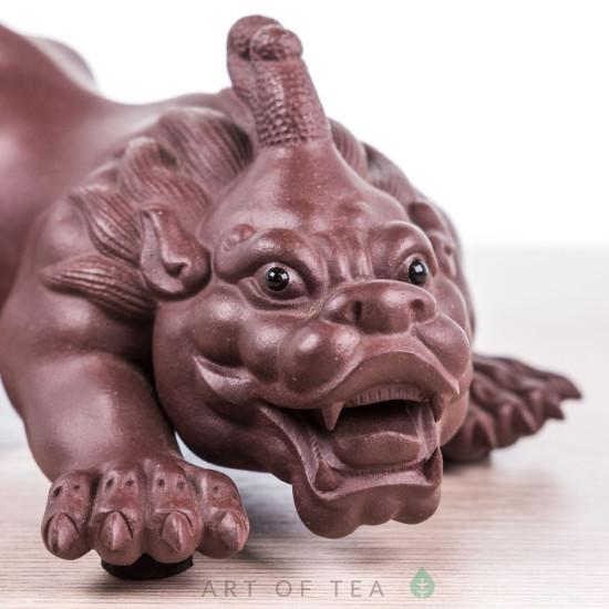 Фигурка Суань-Ни коричневый, исинская глина, 13 см
