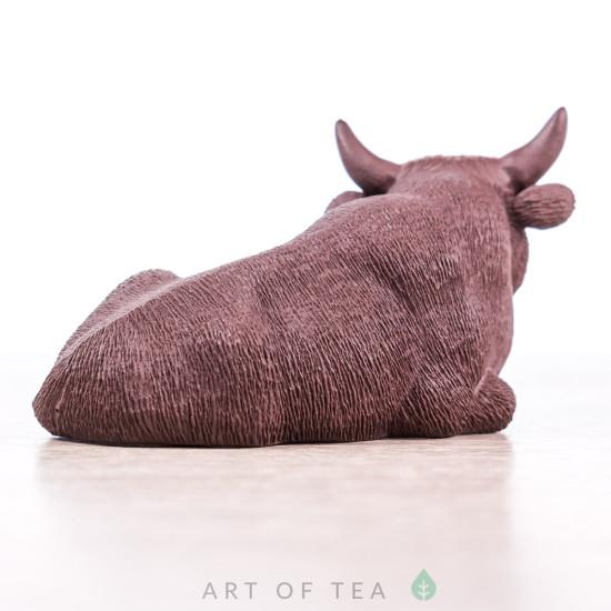 Фигурка Бурёнка из Исина, глина, 7 см