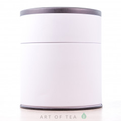 Банка для чая Цилиндр, белая, 8,5*10 см