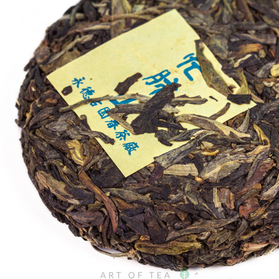 Гу Юэн Чун Манфэй, шэн пуэр, 2012 г, 100 гр