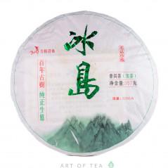 Нефритовый Биндао, шэн пуэр, 2014 г, блин 357 гр
