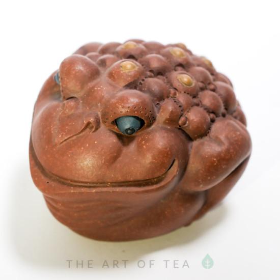 Чайная фигурка Хитрая Жаба, глина