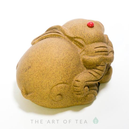 Чайная фигурка Песочный слон, глина