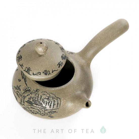 Чайник из исинской глины т204, 165 мл