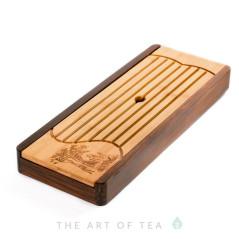 Чабань Лу Юй, бамбук, дерево 35*13,5 см