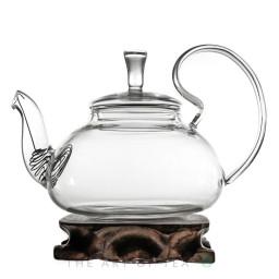 """Стеклянный заварочный чайник """"Георгин"""", 600 мл"""