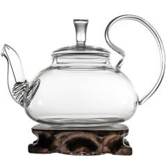 """Стеклянный заварочный чайник """"Георгин"""", 800 мл"""