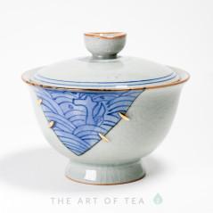 Гайвань Золотой шов, керамика, глазурь, 175 мл