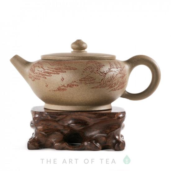 Чайник из исинской глины т231, 145 мл