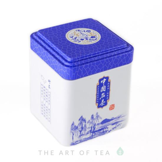 Баночка для чая Белая, 7*7*8,5 см