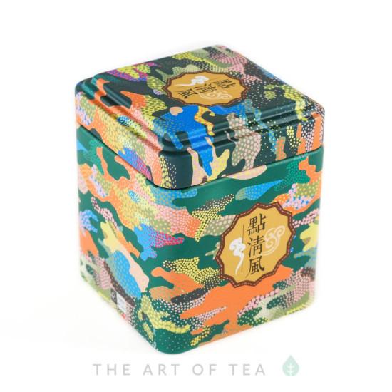 Баночка для чая Разноцветная, 7*7*8,5 см