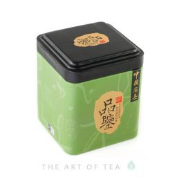 Баночка для чая Зеленая, 7*7*8,5 см