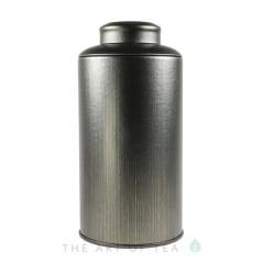 Банка для чая темно-зеленая, 8,5*17 см