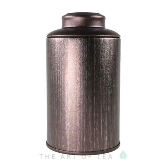 Банка для чая бордовая, 7,5*13 см