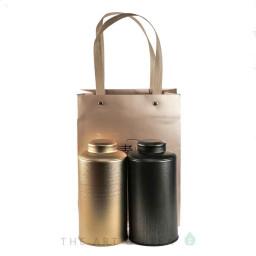 Подарочная упаковка, 2 больших банки и сумка