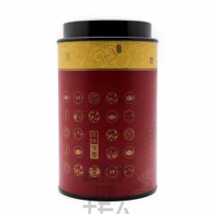 Баночка для чая Красная, 8*13 см