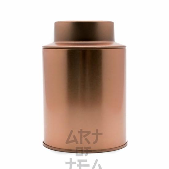 Баночка для чая Золотая, 8*12 см