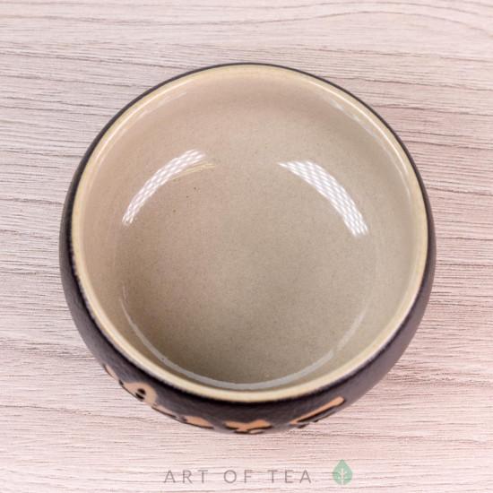 Пиала Чугун 614, керамика, глазурь, 70 мл