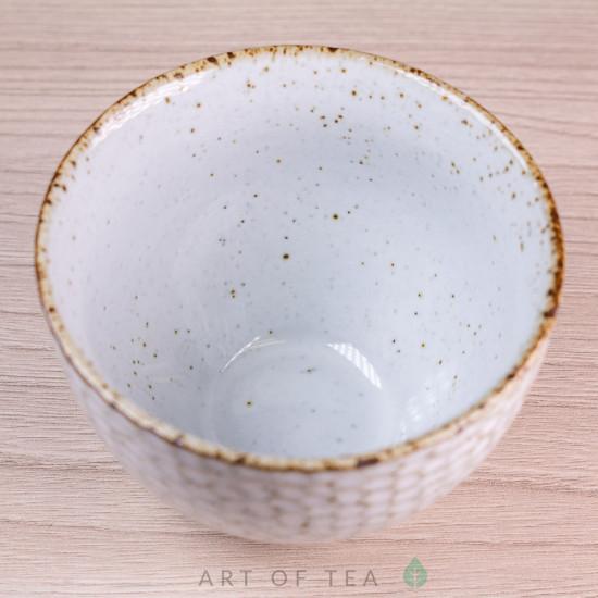 Пиала Молоко 308, глина, глазурь, 110 мл