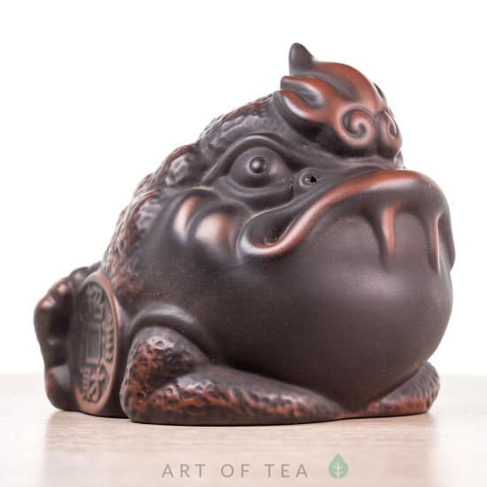 Фигурка Огромная жаба, цзяньшуйская глина