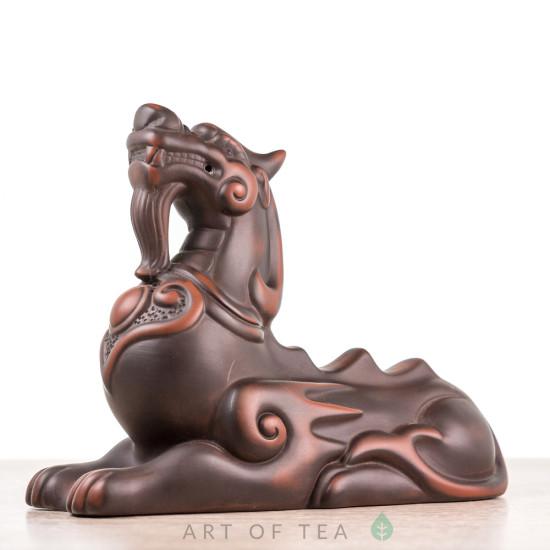 Фигурка Грациозный дракон, цзяньшуйская глина