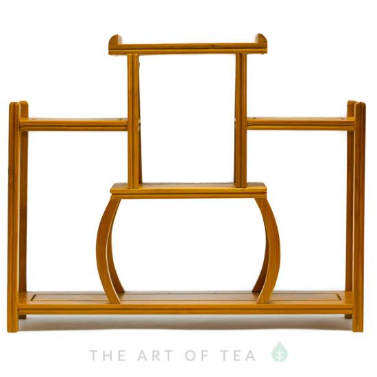 Полочка для чайной посуды, бамбук