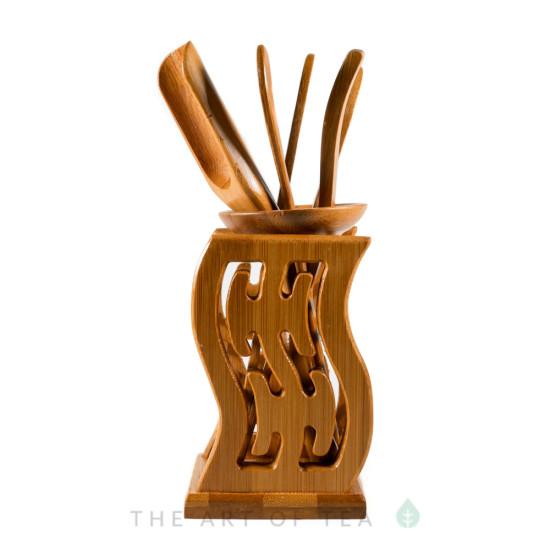 Инструменты для чайной церемонии #1, бамбук
