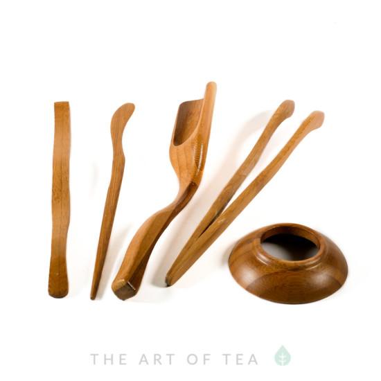 Инструменты для чайной церемонии #2, бамбук
