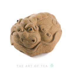 Чайная фигурка Песочная жаба, глина