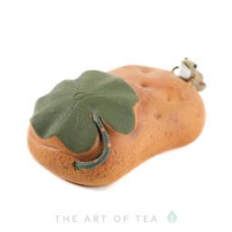 Фигурка Лягушка на гальке, глина