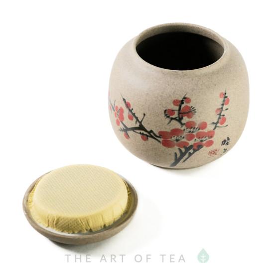 Чайница Сакура, керамика, 200 мл