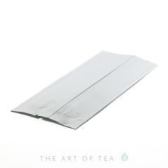 Пакет для чая средний, серебристый, 6,5*16 см