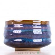 Тяван, чаша для матча, сине-фиолетовый