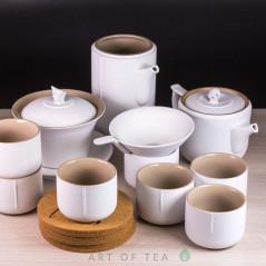 Набор посуды S83, керамика, 10 предметов