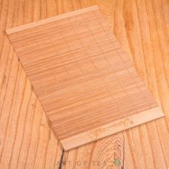 Циновка Карп на волне #2, бамбук, 23*35 см