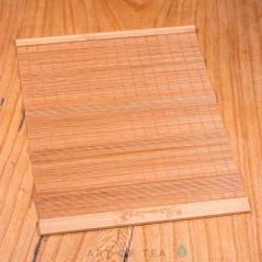 Циновка Карп на волне #2, бамбук, 35*23 см