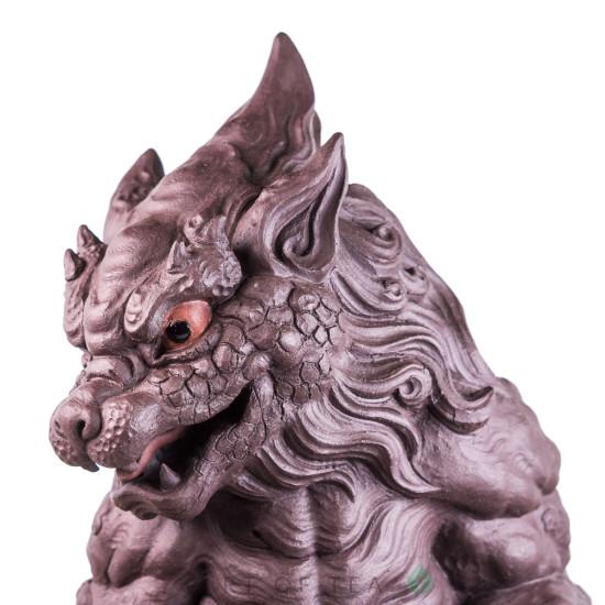 Фигурка Чэньлун, исинская глина, 18 см